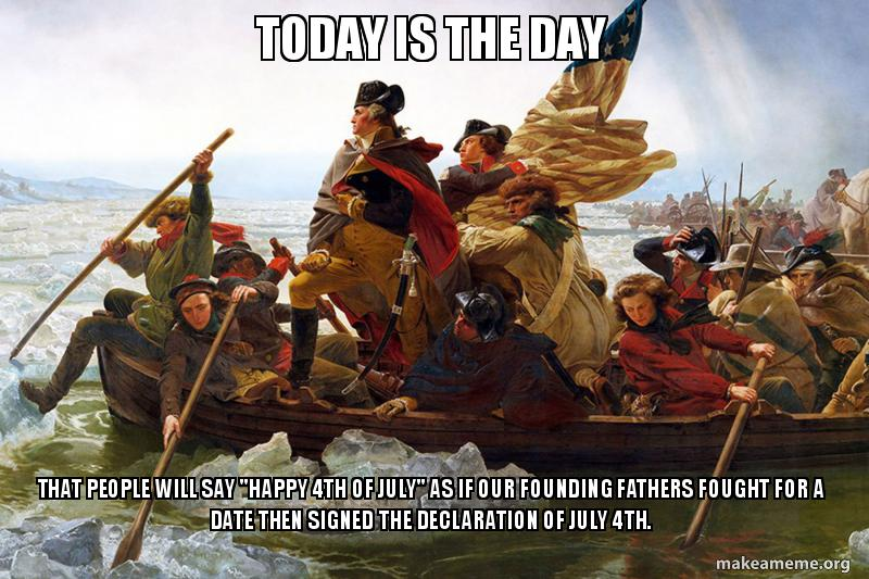july 4th founding fathers meme