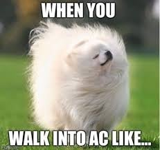 summer weather meme air conditioning