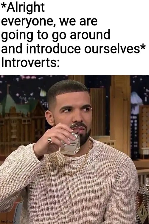 introducing introverts meme
