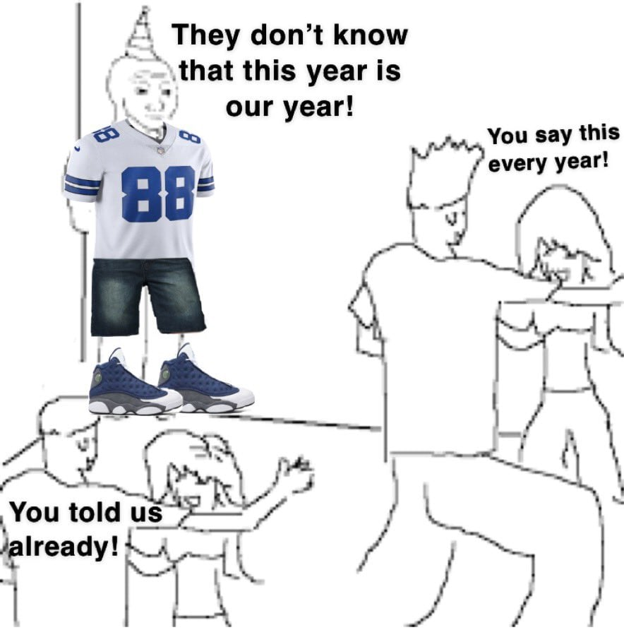 dallas cowboys 2021 meme this is our year