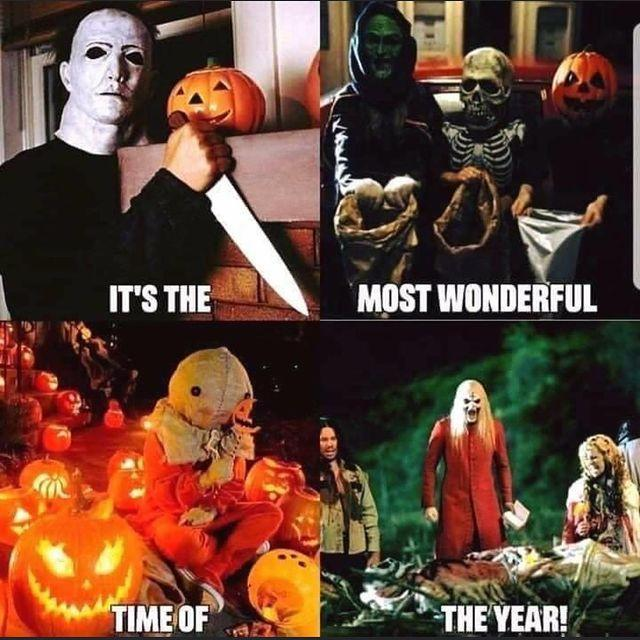 most wonderful time of the year halloween meme
