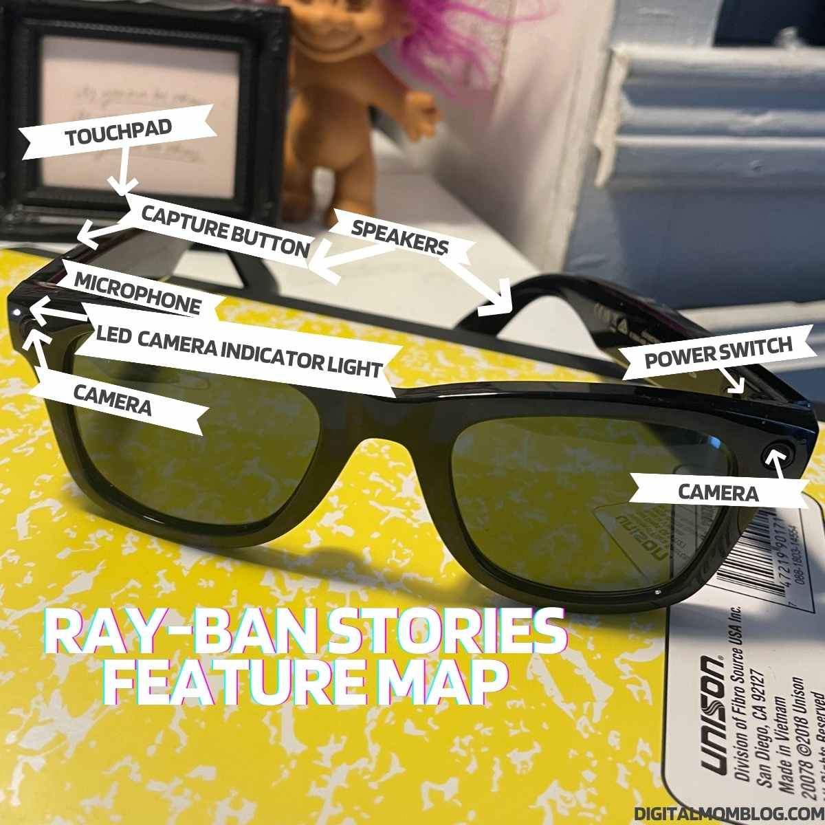ray-ban stories features