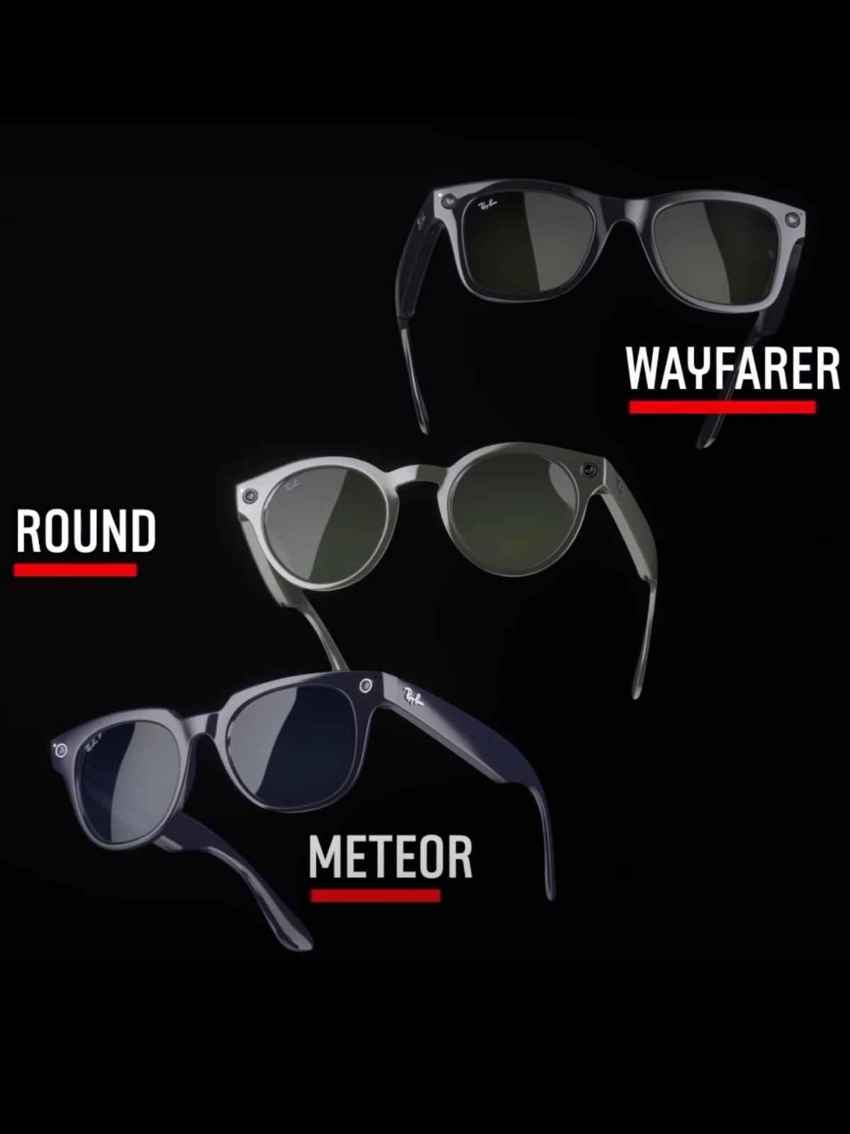 ray-ban stories style options smart frame designs