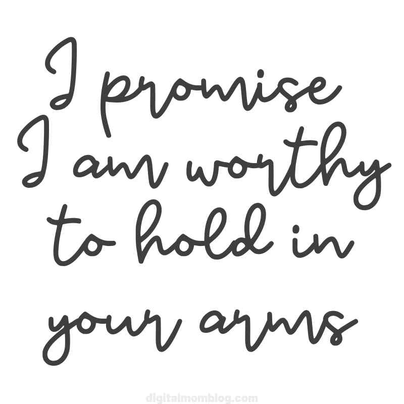 adele one and only lyrics image 0 i promise i am worthy to hold in your arms