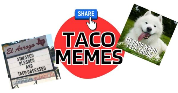 Taco Memes – Because Everyday Should be Taco Day!